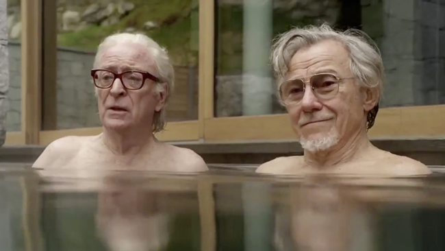 Michael Caine in Film Youth at Walton in September